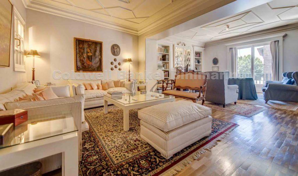 Wohnbereich Luxus Apartment