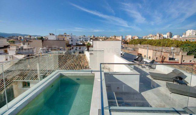 Luxus-Design-Gebäude mit Charakter und Stil im Herzen von Palma