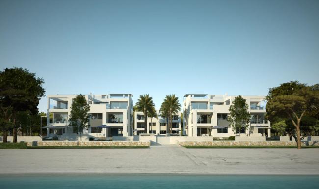 Luxus-Apartment 1. Meereslinie Puerto Alcudia –  B3 Erdgeschoss Links