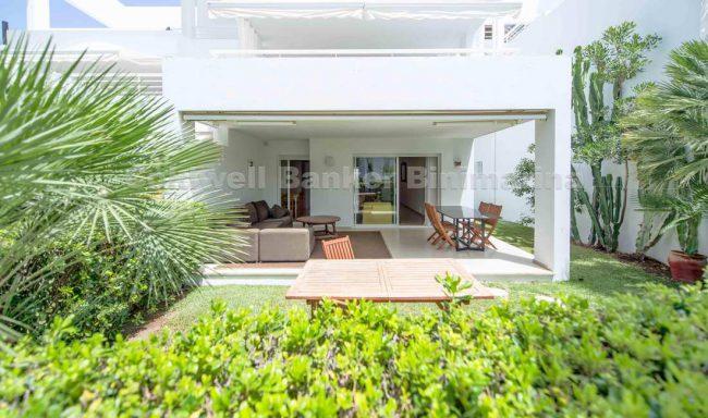 Erdgeschosswohnung mit Terrasse und Garten in Bellresguard – Puerto Pollensa
