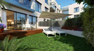 Neue moderne Erdgeschosswohnung mit Pool in Puerto Andratx